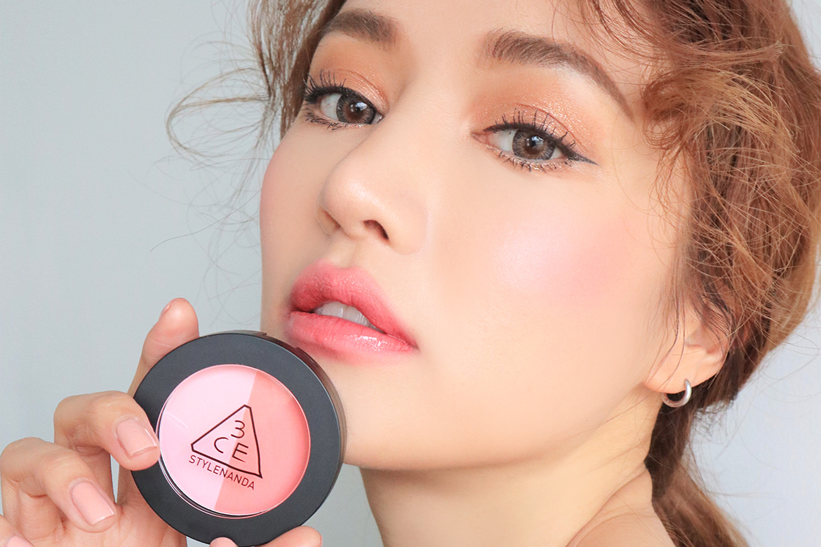 3CE DUO COLOR FACE BLUSH #MAKE ME BLUSH